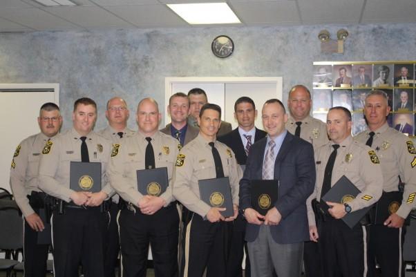Cpl. Asper, Officer Greco, Officer Irwin, Lt. Lash, Officer Haller, Officer Baker, Lt. Wasilko, Officer Vaughn, Sgt. Anderson, Officer Hoffman, Officer Allen, Cpl. Gladfelter
